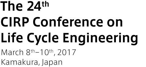 The 24th CIRP Conference on Life Cycle Engineering
